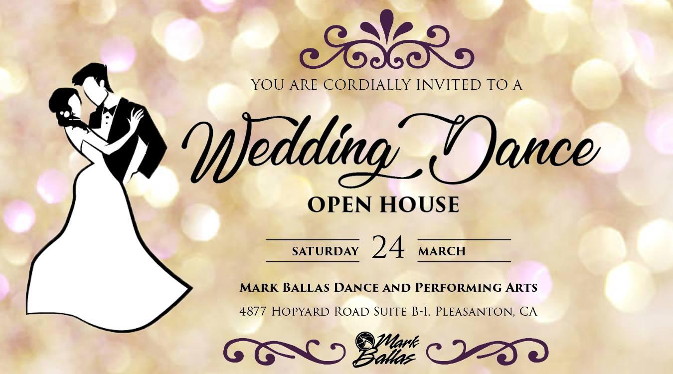 Wedding Dance Open House Dancemaven Com